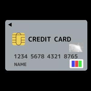 クレジットカード(JCB)風のイラスト アイキャッチ