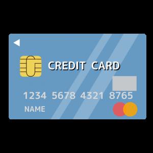 クレジットカード( Master card)風のイラスト アイキャッチ