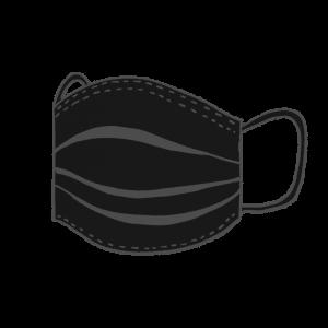 使い捨てマスク立体黒 アイキャッチ