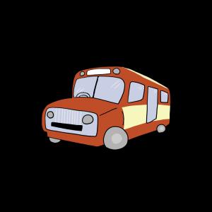 昭和レトロなバス