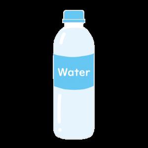 ペットボトルの水のイラスト アイキャッチ