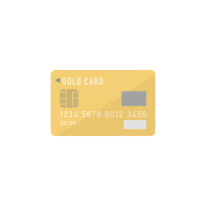 ゴールドカードのイラスト アイキャッチ