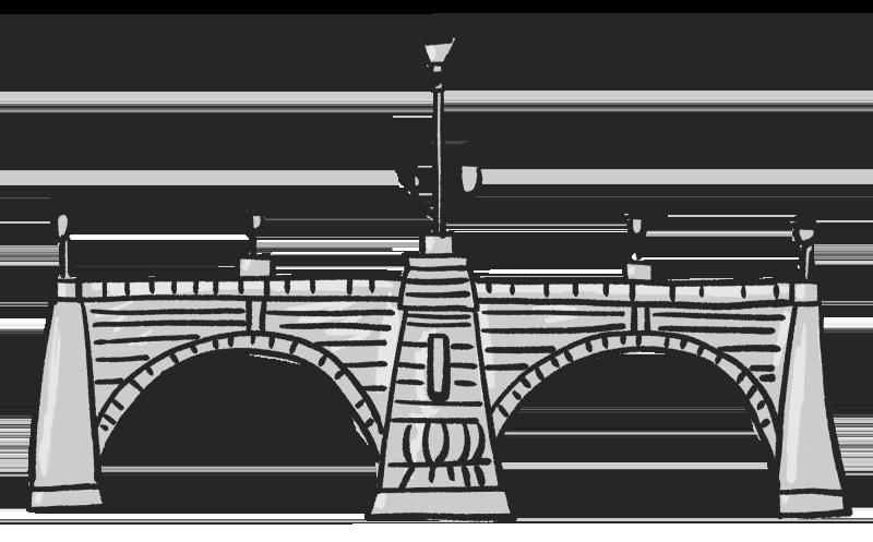 (東京)日本橋のイラスト