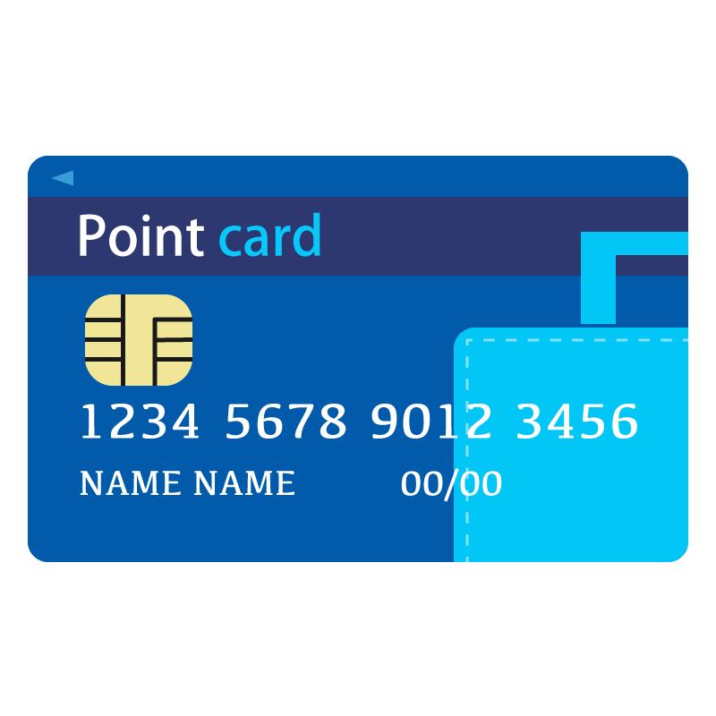 Booking.comカード風のイラスト