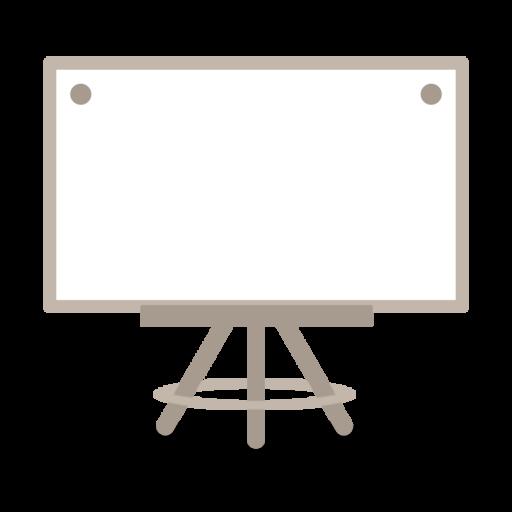ホワイトボードのイラスト