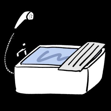 お風呂のイラスト