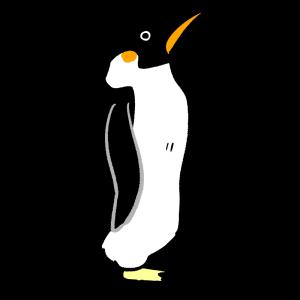 エンペラーペンギンのイラスト