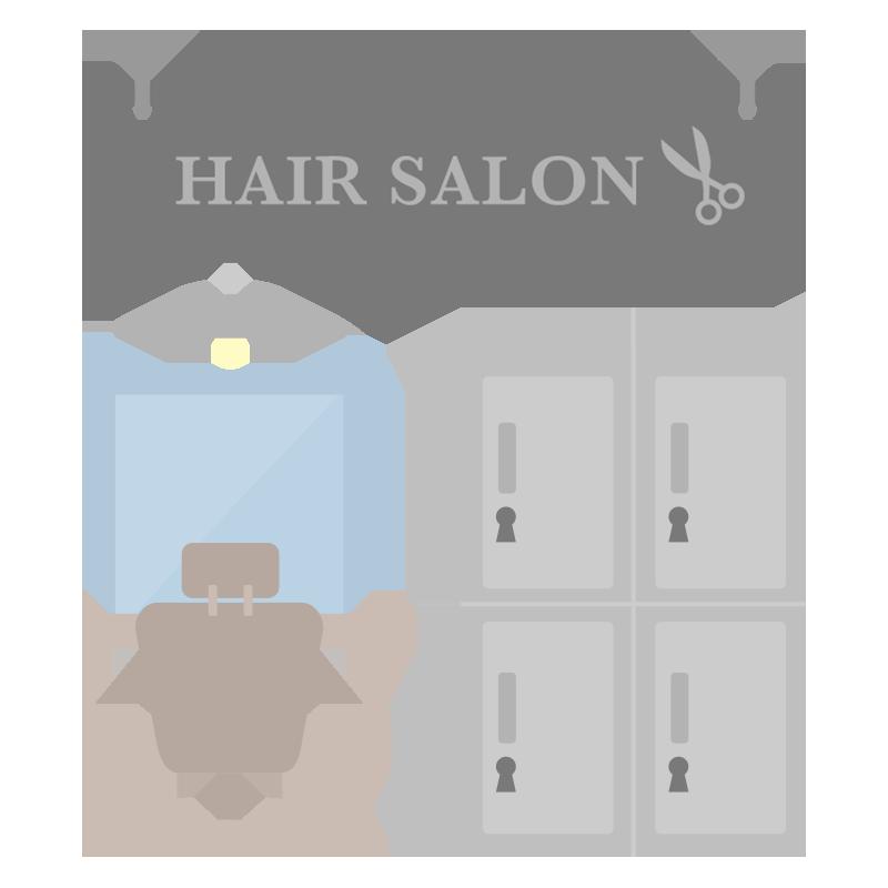 美容室のイラスト