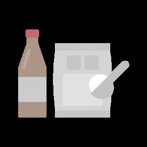 シンプルな調味料のイラスト