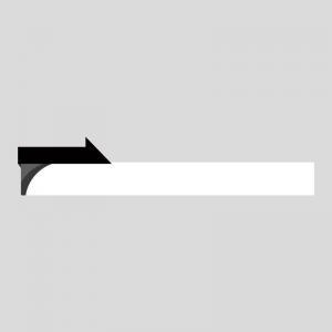 黒色のニュース風のボトムテロップのイラスト