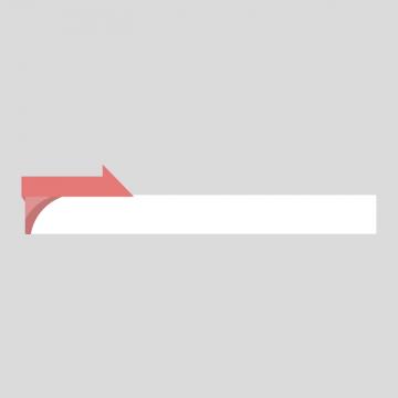 赤色のニュース風のボトムテロップのイラスト