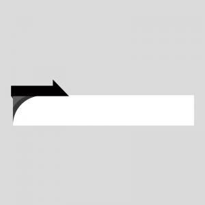 黒色のニュース風の縦長ボトムテロップのイラスト