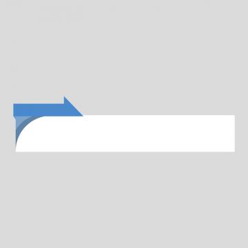 青色のニュース風の縦長ボトムテロップのイラスト