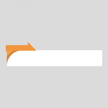 オレンジ色のニュース風の縦長ボトムテロップのイラスト