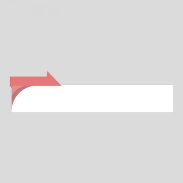 赤色のニュース風の縦長ボトムテロップのイラスト