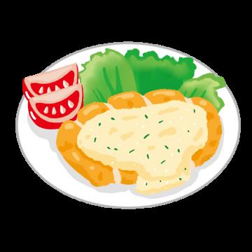 チキン南蛮のイラスト