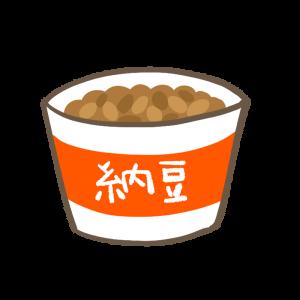 カップ納豆のイラスト