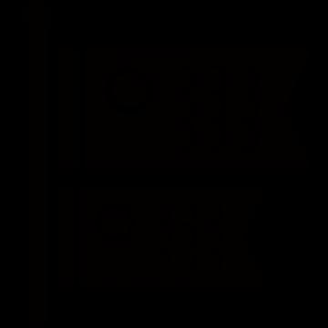 鯉のぼりアイコンのシルエットイラスト
