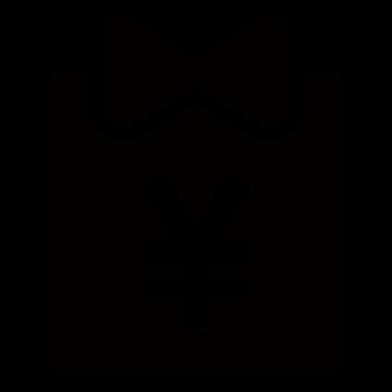優待アイコンの白黒イラスト