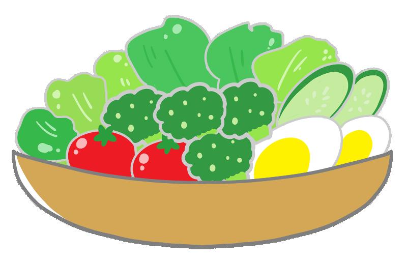 サラダのイラスト - ONWAイラスト