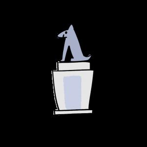 忠犬ハチ公のイラスト