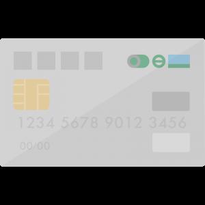 JRE CARD風のクレジットカードのイラスト