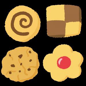 いろいろなクッキーのイラスト
