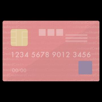 SPGアメックス風のクレジットカードのイラスト