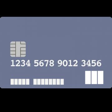 JCB CARD W風のクレジットカードのイラスト