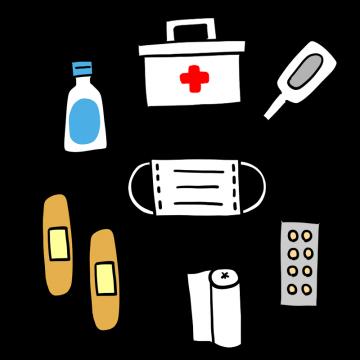 救急セットのイラスト