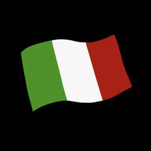 イタリア国旗のイラスト
