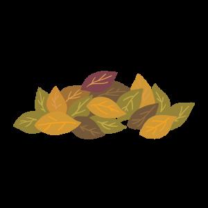 落ち葉のイラスト