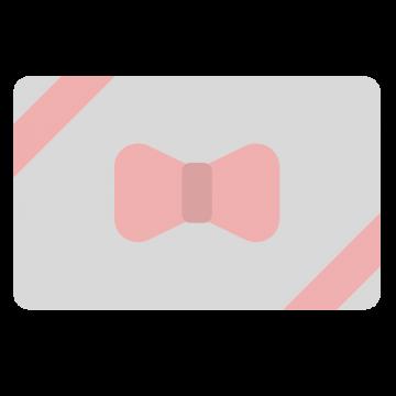 シンプルなギフトカードのイラスト