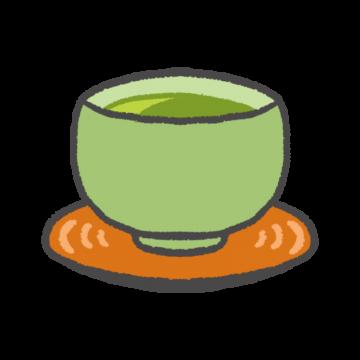 緑茶のイラスト