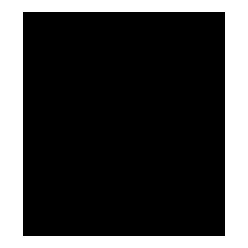紅葉のシルエットアイコン