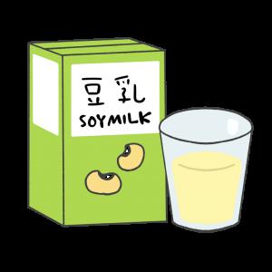 豆乳のイラスト