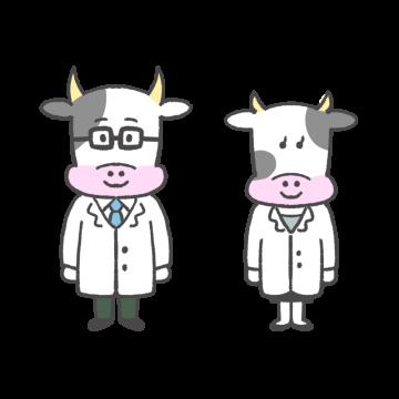 牛の医者のイラスト