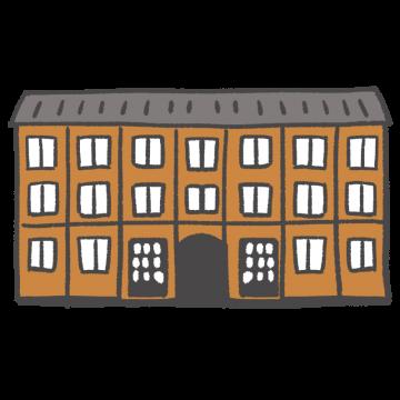 富岡製糸場の外観のイラスト