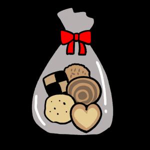 クッキーの詰め合わせのイラスト