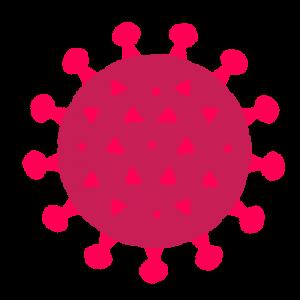新型コロナウイルスのイラスト