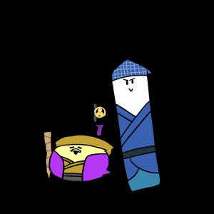 水戸黄門風のイラスト