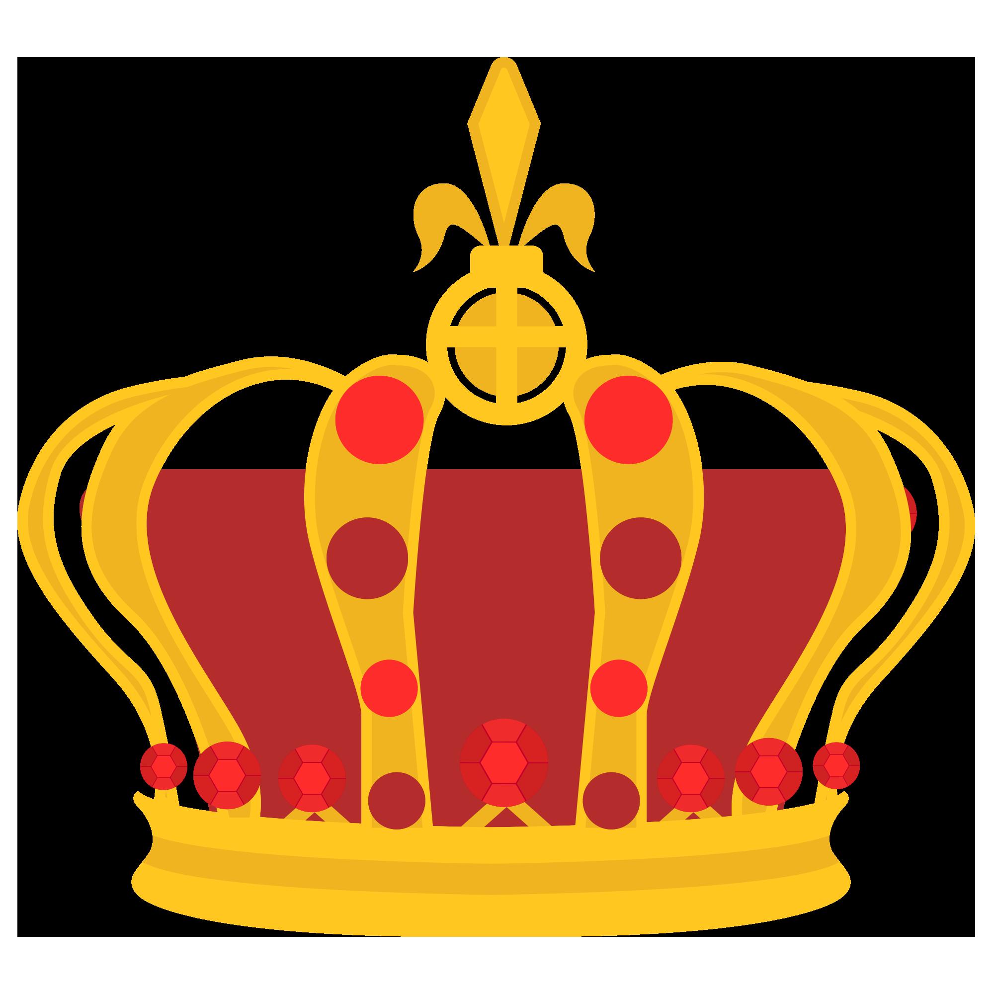 黄金の王冠のイラスト