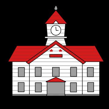 札幌時計台のイラスト