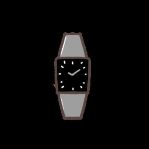 腕時計のイラスト