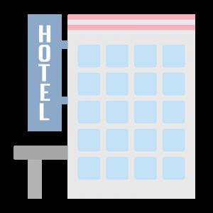 シンプルなホテル2のイラスト