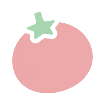 トマトのアイコンイラスト