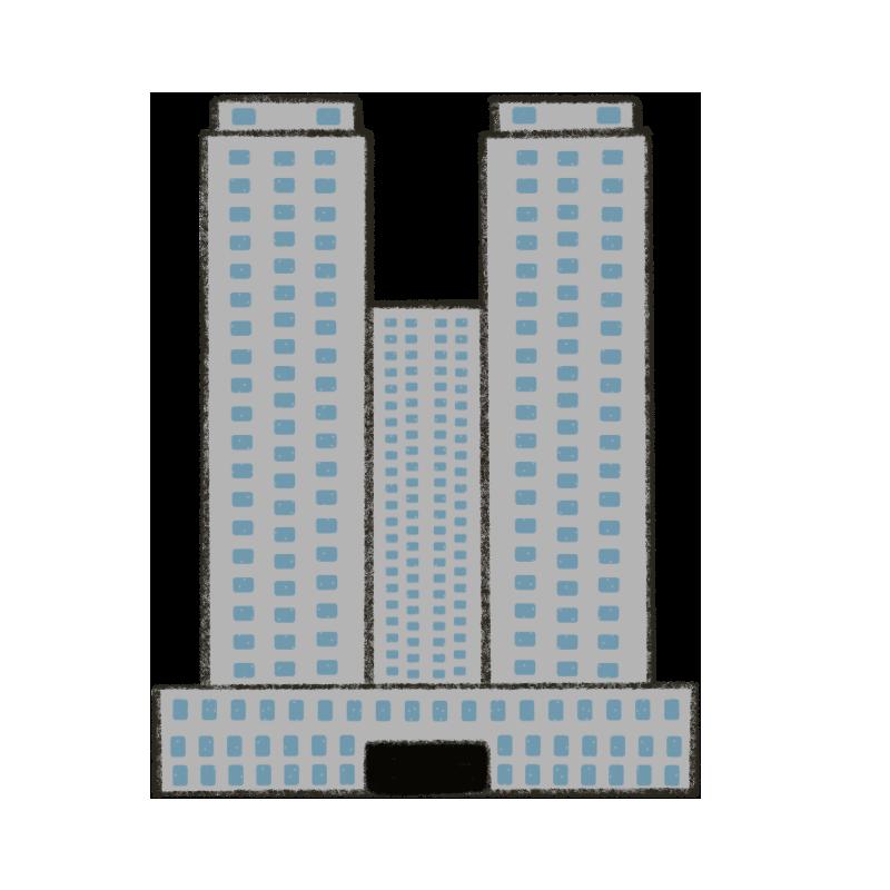東京都庁のイラスト