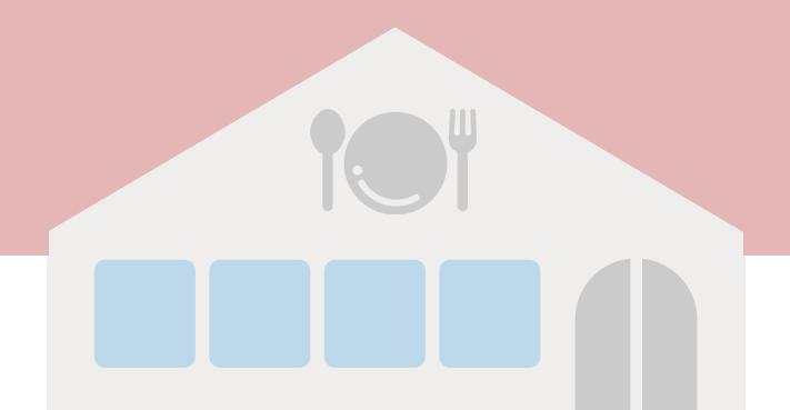 飲食店のイラスト