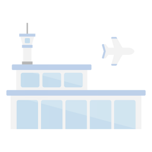 空港のイラスト