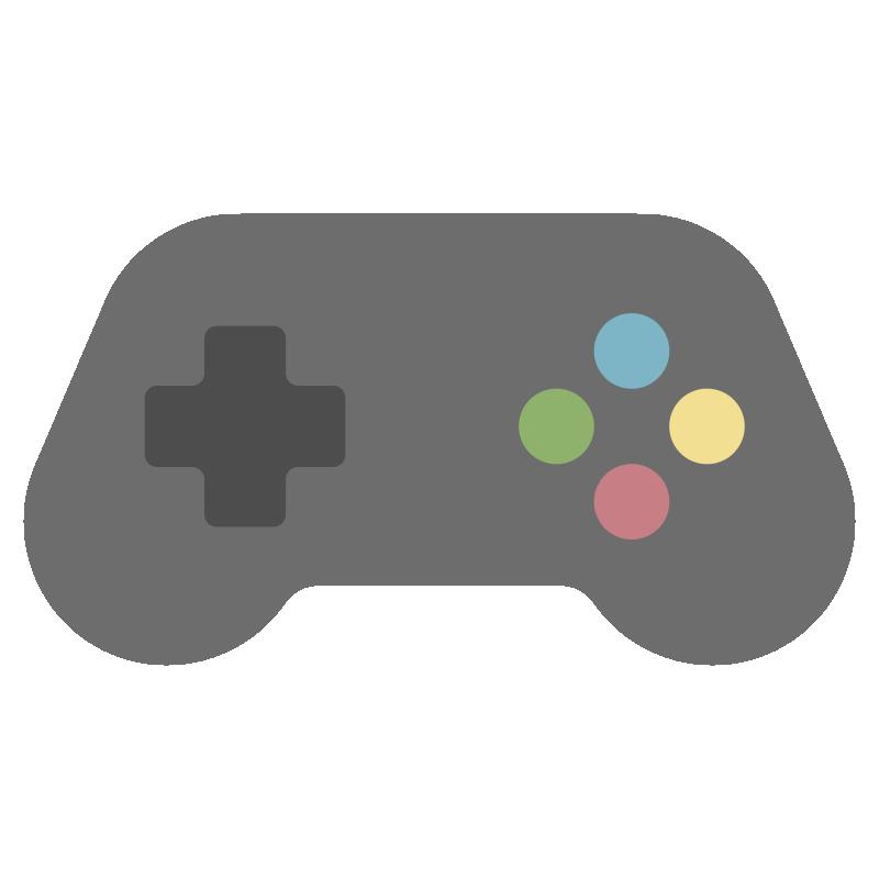 シンプルなゲームのイラスト